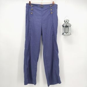 Level 99 High Rise Wide Leg Sailor Pants
